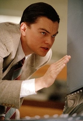 DiCaprio in una scena di The Aviator