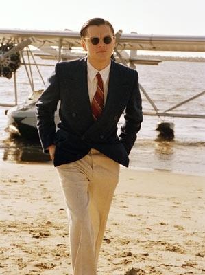 Leonardo DiCaprio in una scena di The Aviator (2004)