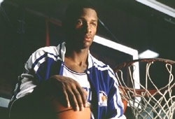 Ray Allen in una scena di He Got Game