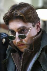 Alfred Molina in una scena di Spider-Man 2