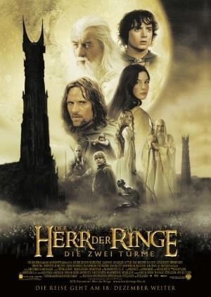 Poster tedesco del film Il signore degli anelli - Le due torri