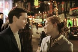 Tobey Maguire e Kirsten Dunst in una scena di Spider-Man 2