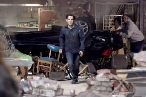Maguire in una scena di Spider-Man 2
