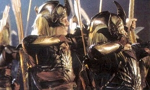 scena del film Il signore degli anelli - Le due torri