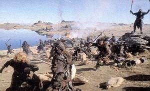 Una immagine del film Il signore degli anelli - Le due torri