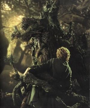 Una scena del film Il signore degli anelli - Le due torri, del 202