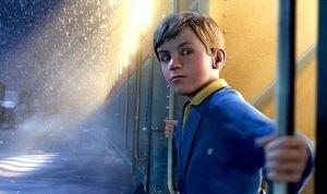 Una scena di Polar Express di Zemeckis