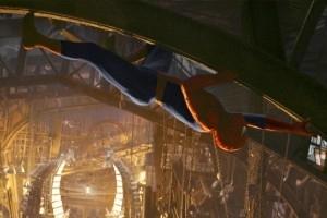 Una scena di Spider-Man 2