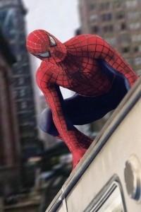 L'uomo ragno in unna scena di Spider-Man 2