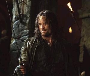 Viggo Mortensen è Aragorn ne Il signore degli anelli - Le due torri