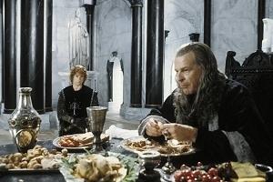 Billy Boyd e John Noble in una scena di Il signore degli anelli - Il ritorno del re