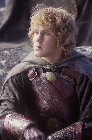 Dominic Monaghan in una scena di Il signore degli anelli - Il ritorno del re