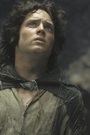 Elijah Wood ne Il signore degli anelli - Il ritorno del re