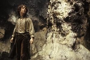 Elijah Wood in una sequenza di Il signore degli anelli - Il ritorno del re