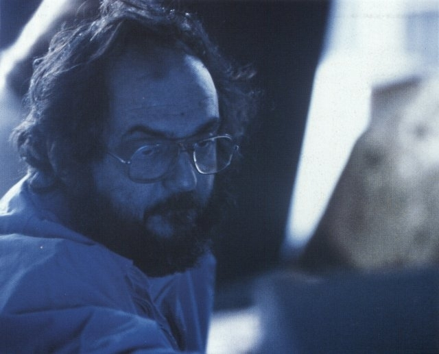 Kubrick sul set di Shining
