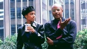 Jada Pinkett-Smith e Damon Wayans in una scena di Bamboozled