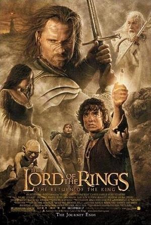 Poster ufficiale del film Il signore degli anelli - Il ritorno del re
