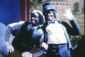 Tommy Davidson e Savion Glover in una scena di Bamboozled