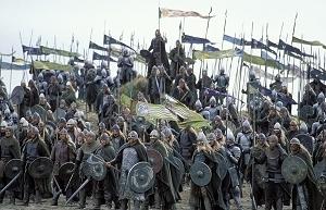 Una scena di Il signore degli anelli - Il ritorno del re diretto da Peter Jackson