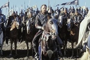 Viggo Mortensen è Aragorn in una scena di Il signore degli anelli - Il ritorno del re