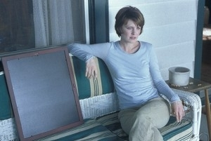 Kathryn Morris in una scena di Minority Report