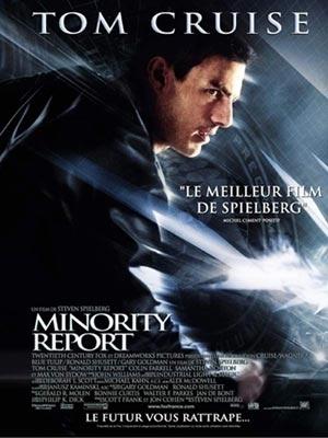Poster francese di Minority Report