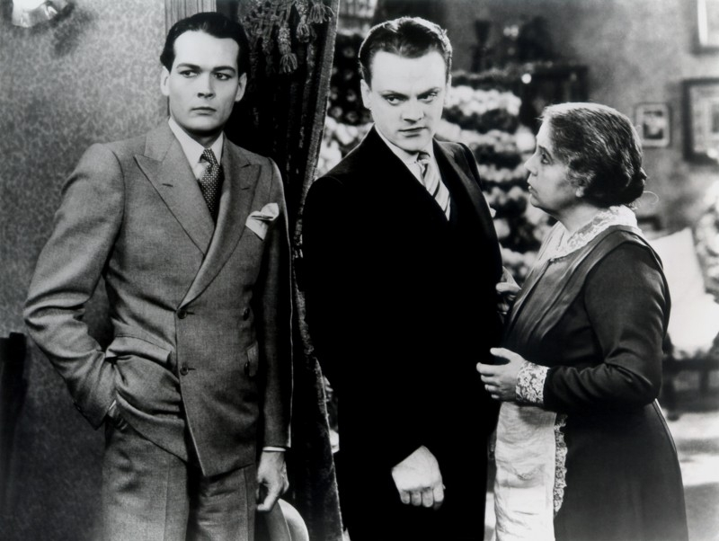 Eddie Woods e James Cagney in Nemico Pubblico