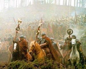 Una sequenza di Il Gladiatore