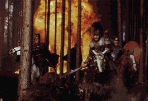 Una scena di Il Gladiatore