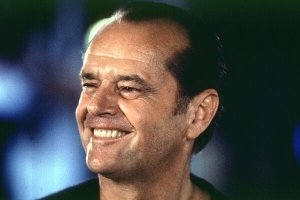 Jack Nicholson in una scena di Qualcosa è cambiato
