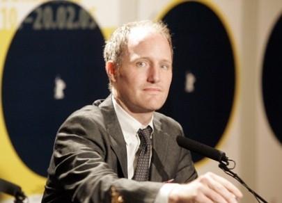 Il regista Mike Mills in conferenza a Berlino per presentare il suo  Thumbsucker