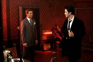 Gavin Rossdale e Keanu Reeves in una scena di Constantine