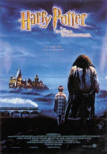 La locandina di Harry Potter e la pietra filosofale