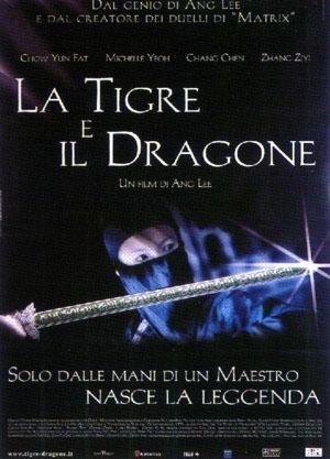 La locandina di La tigre e il dragone