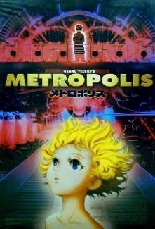 La locandina di Metropolis