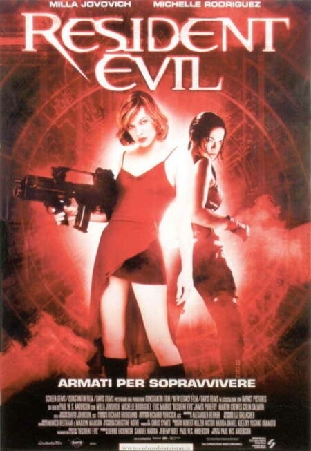 La locandina di Resident Evil