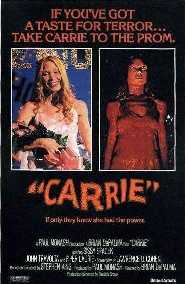 La locandina di Carrie - Lo sguardo di Satana