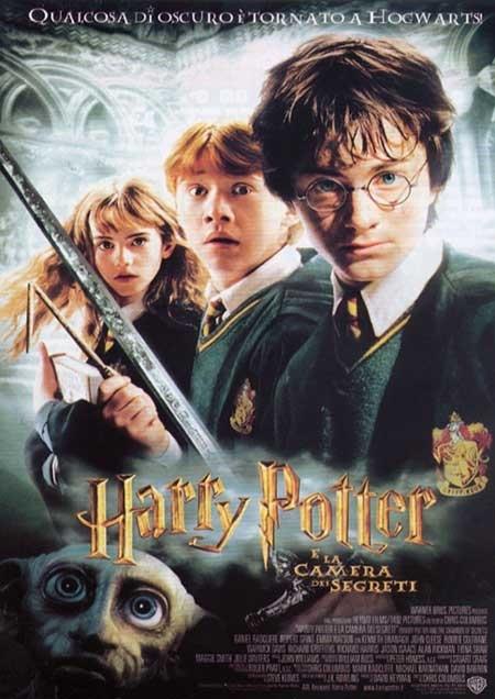 La locandina di Harry Potter e la camera dei segreti
