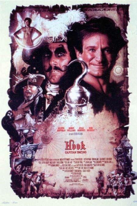La locandina di Hook - Capitan Uncino