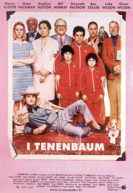 La locandina di I Tenenbaum