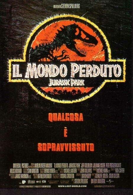 La locandina di Il mondo perduto: Jurassic park