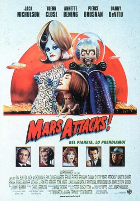 La locandina di Mars Attacks!