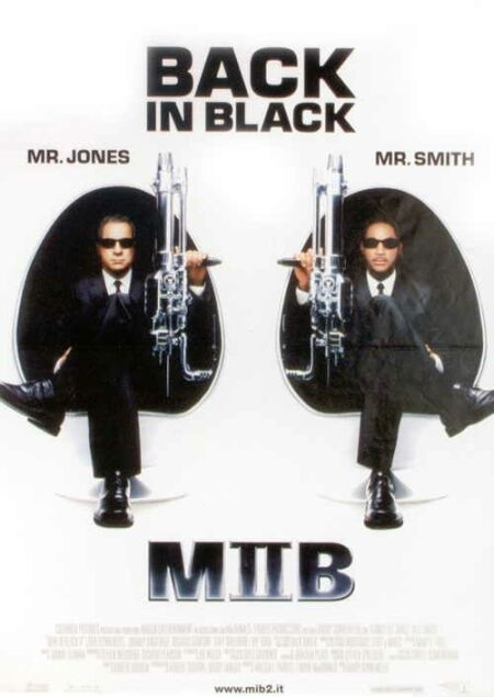 La locandina di Men in Black 2