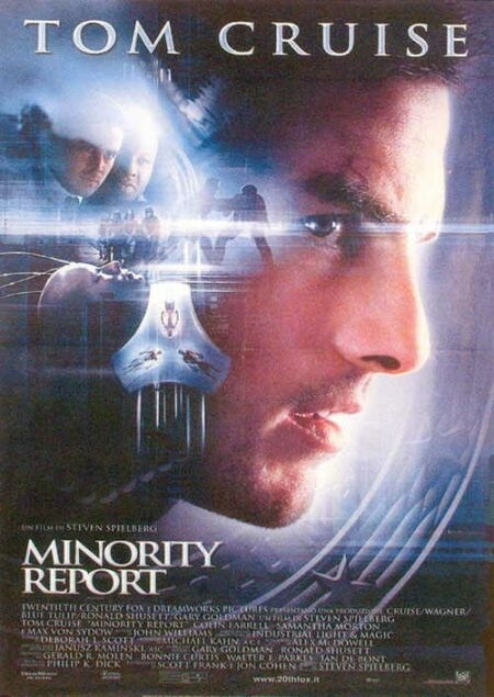 La locandina di Minority Report