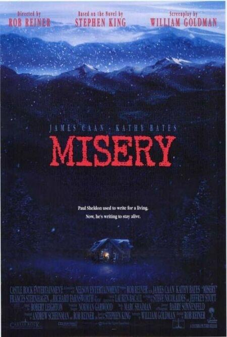 La locandina di Misery non deve morire
