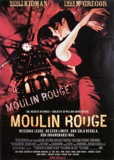 La locandina di Moulin Rouge
