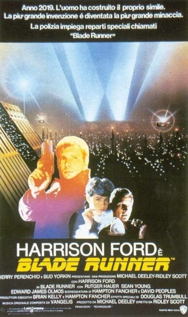 La locandina di Blade Runner