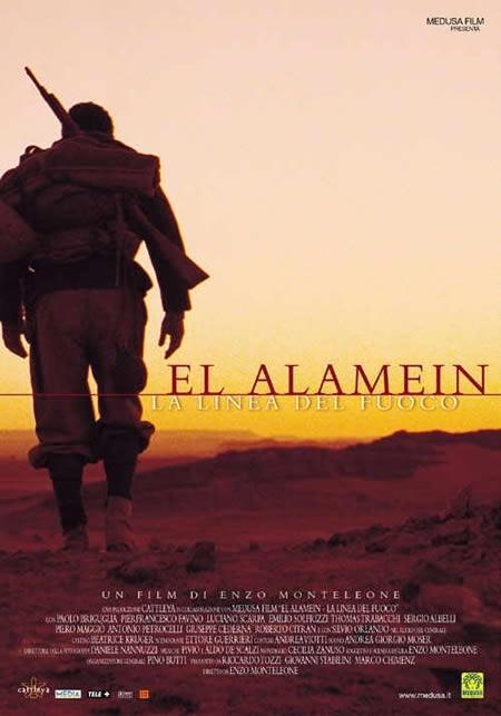 La locandina di El Alamein