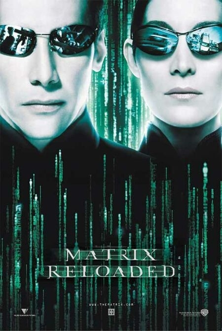 La locandina di Matrix Reloaded