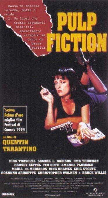 La locandina di Pulp Fiction